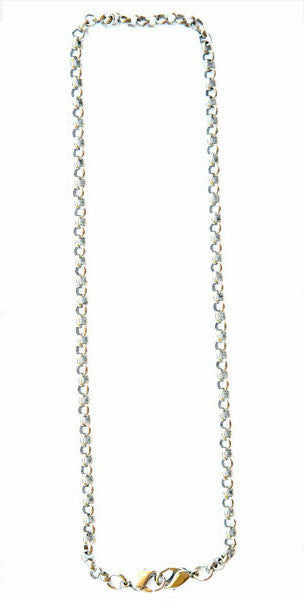 Belcher chain 18in-silver - Across The Way