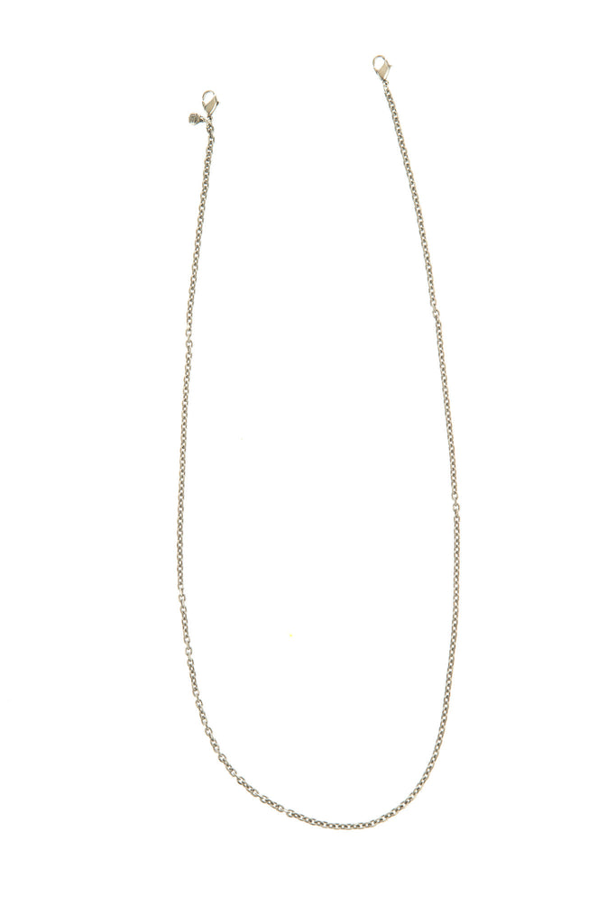 30in Textured Cable Chain Silver - Across The Way
