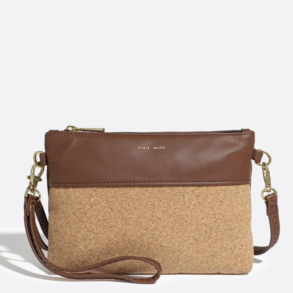 Nicole Pouch Small - Dark Oak