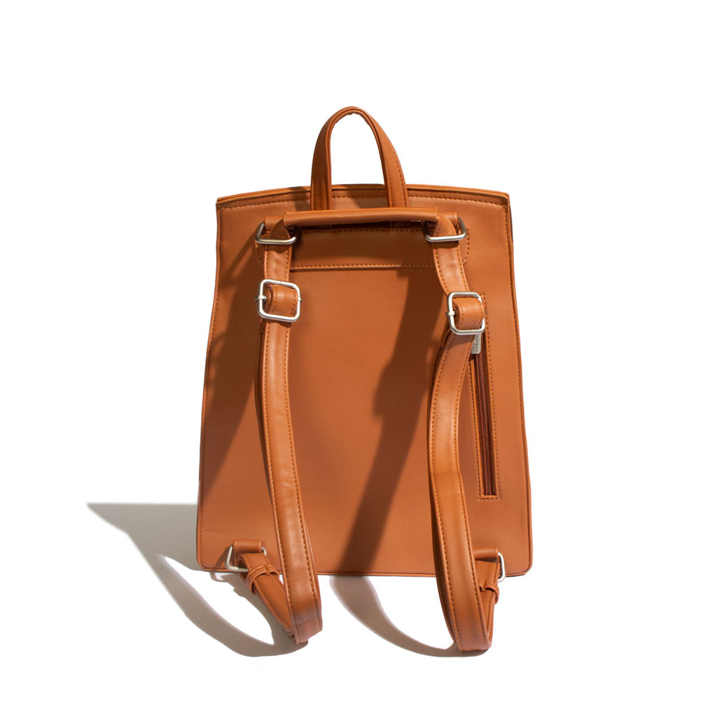 Oscar Backpack Cognac - Across The Way