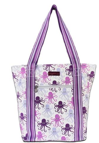 Striped Tote - Octopus