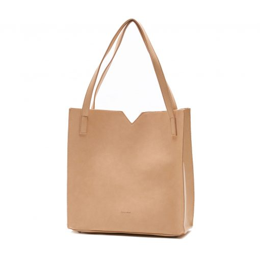 Alicia Tote - Praline - Across The Way