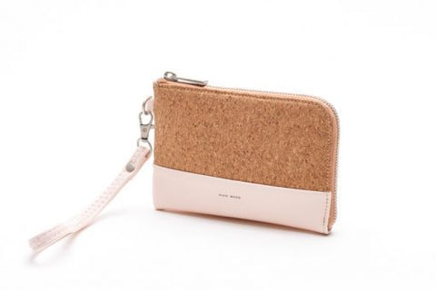 Cameron Wristlet - Blush and Cork - Across The Way