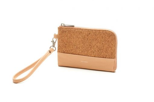 Cameron Wristlet - Praline and Cork - Across The Way