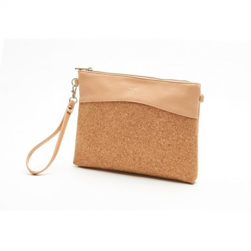 Nicole Wristlet - Praline and Cork - Across The Way