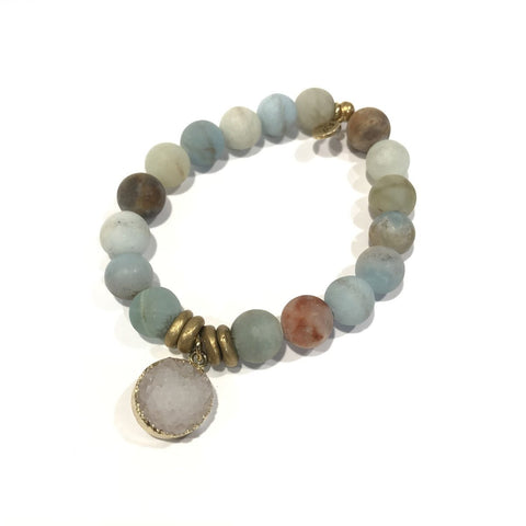 10mm Gemstone - Amazonite