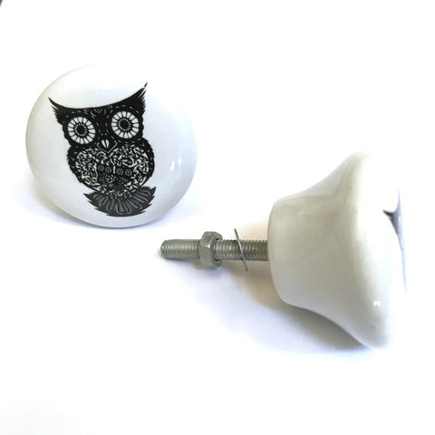 Simple Owl Drawer Pull - Across The Way