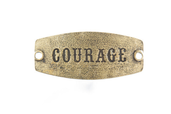 Courage-antique brass - Across The Way