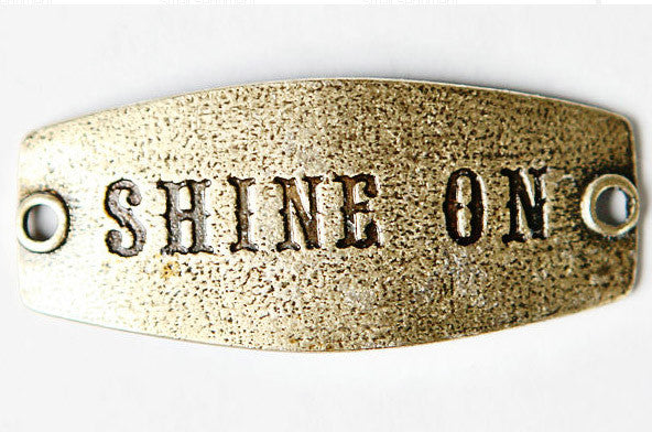 Shine On-antique brass - Across The Way