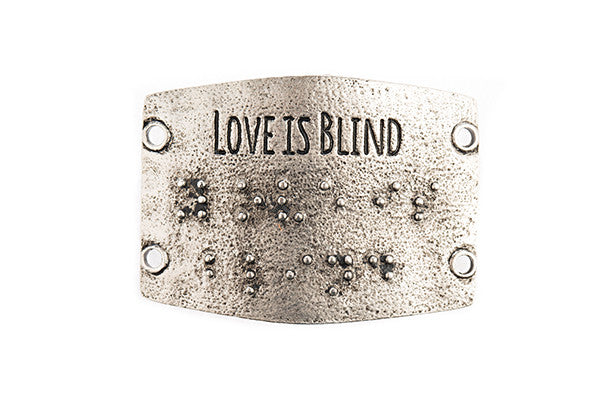 Love is Blind  antique Silver - Across The Way