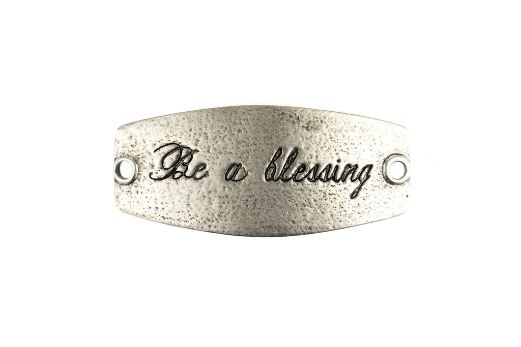 Be a bLESSING antique Silver - Across The Way
