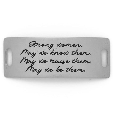 Strong women, may we know,.. Silver