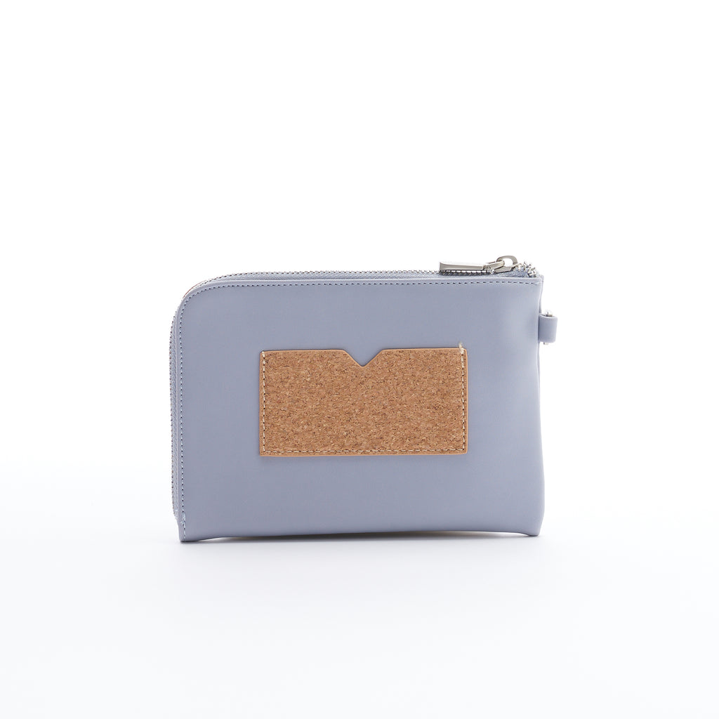 Stacy Wristlet - Lavender/Cork - Across The Way