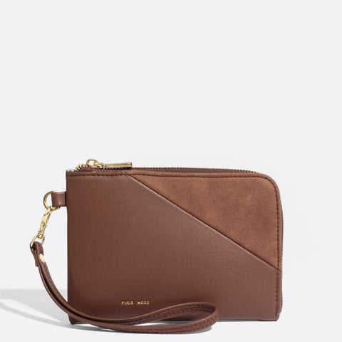 Stacy Wristlet - Dark Oak