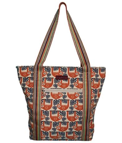 Striped Tote Sloth