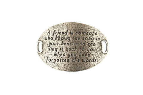 TS Statment  A friend is someone who -Silver - Across The Way