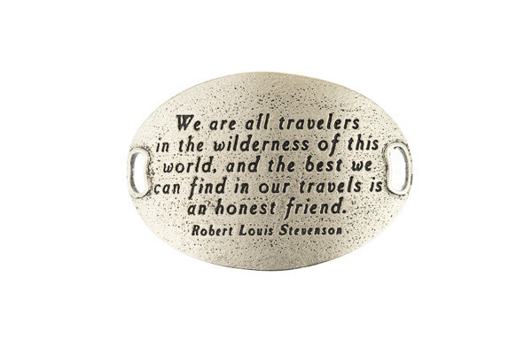 TS Statment We are all travelers -Silver - Across The Way