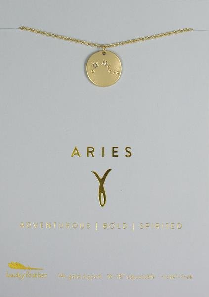 Zodiac Necklace Aries