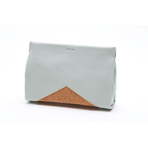 Margaret Clutch - Ash Teal and Cork