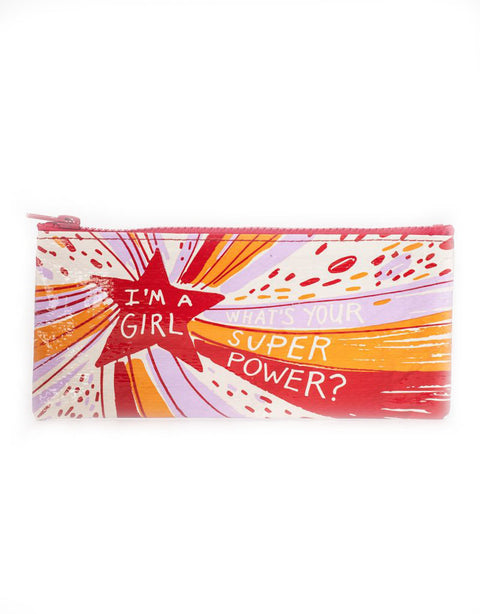 Girl Superpower Pencil Case