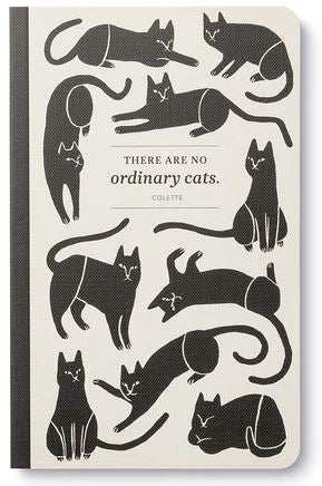 No Ordinary Cats notebook