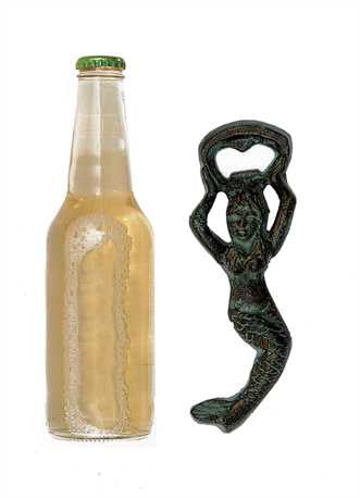 Cast Iron Mermaid bottle opener - Across The Way