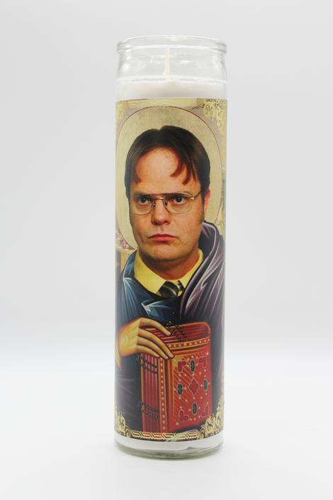 Dwight Schrute Candle