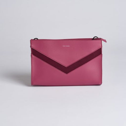 Emily Clutch - Red Bean