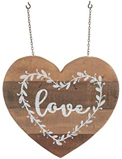 Love heart with Planter hanging