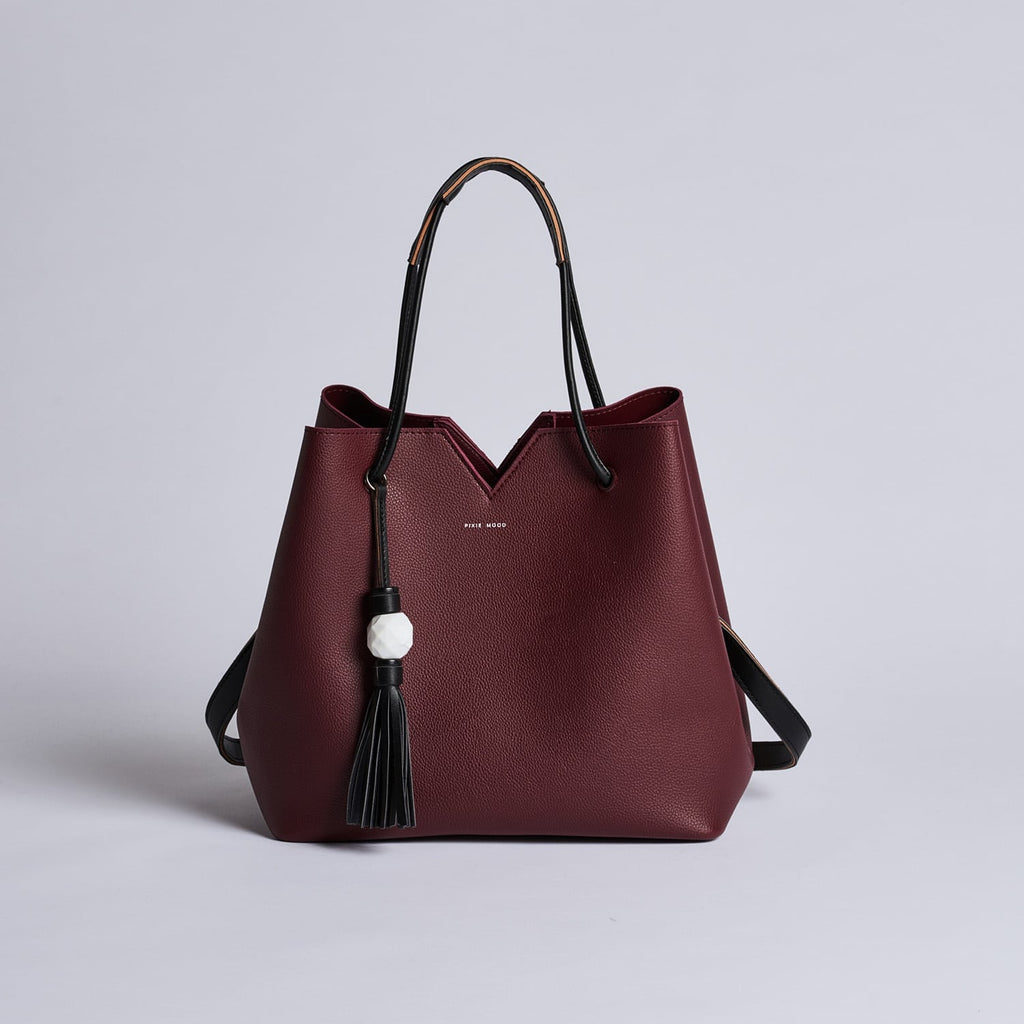 Jasmine Bag - Burgundy - Across The Way
