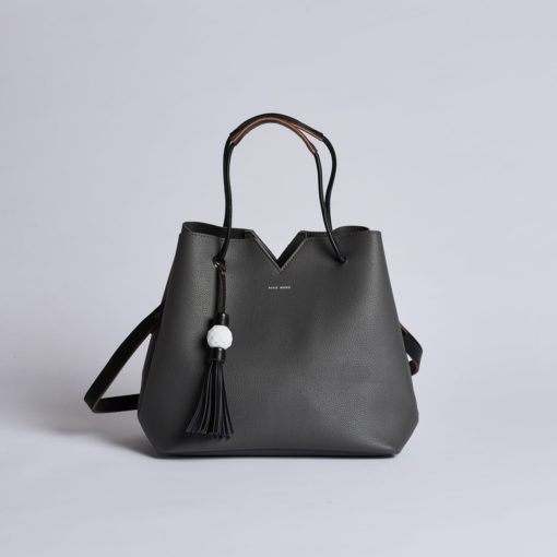 Jasmine Bag - Dark Gray - Across The Way