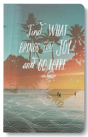 Find what brings you joy notebook