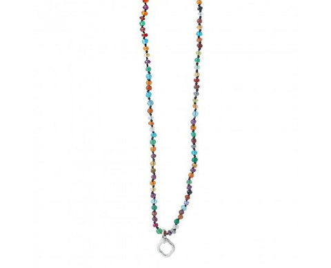 Little Clipper Multi Stone Necklace