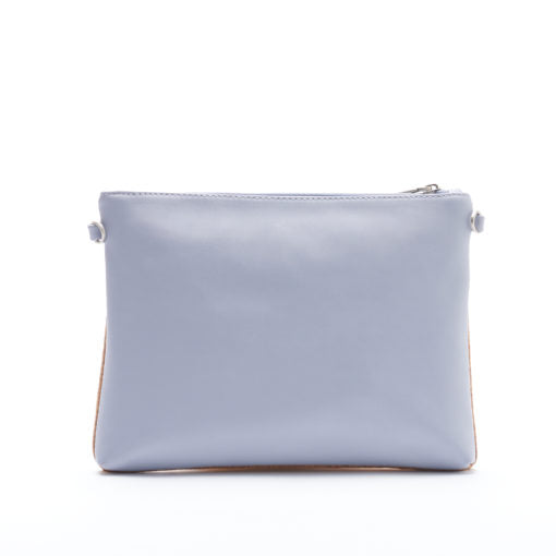 Nicole Pouch Large - Lavender/Cork - Across The Way