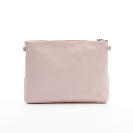 Nicole Pouch Large - Muted Rose/Cork - Across The Way