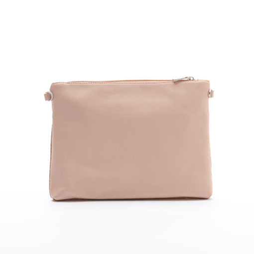 Nicole Pouch Large - Tan/Cork - Across The Way