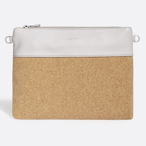 Nicole Pouch Small - Cloud /  Cork