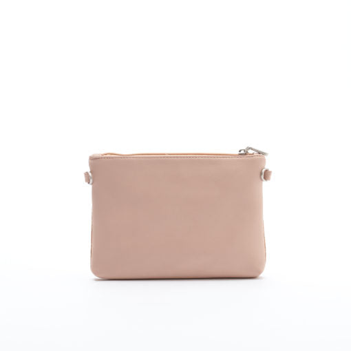 Nicole Pouch Small - Tan/Cork - Across The Way