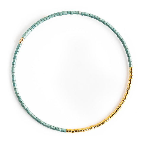 Norah Bangle, Matte Turquoise - Across The Way