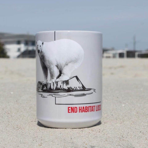 15 oz. Ceramic Mug - Habitat Polar Bear