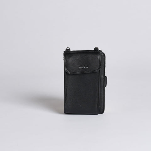 Rae Phone Crossbody - Black