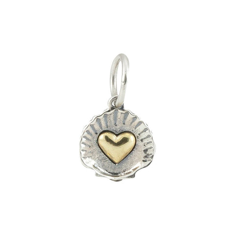 Aphrodites Promise Shell with Heart