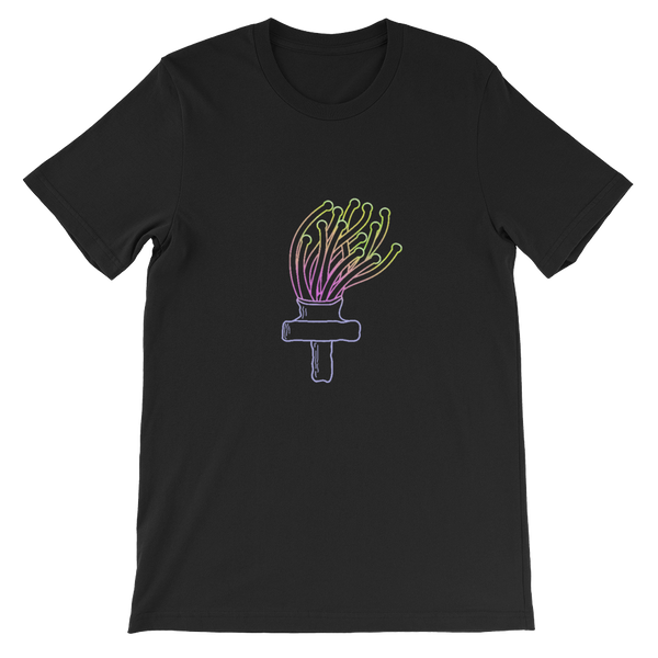 Torch Coral Frag Tee Shirt Black