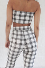 Dionne Plaid Top