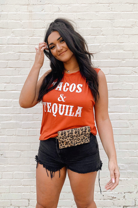 Tacos & Tequila Muscle Tank