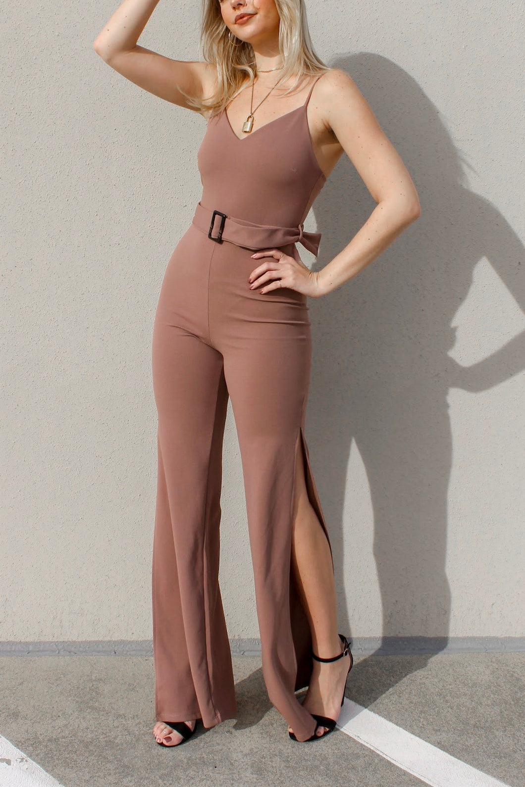 Sweet Like Cocoa Jumpsuit