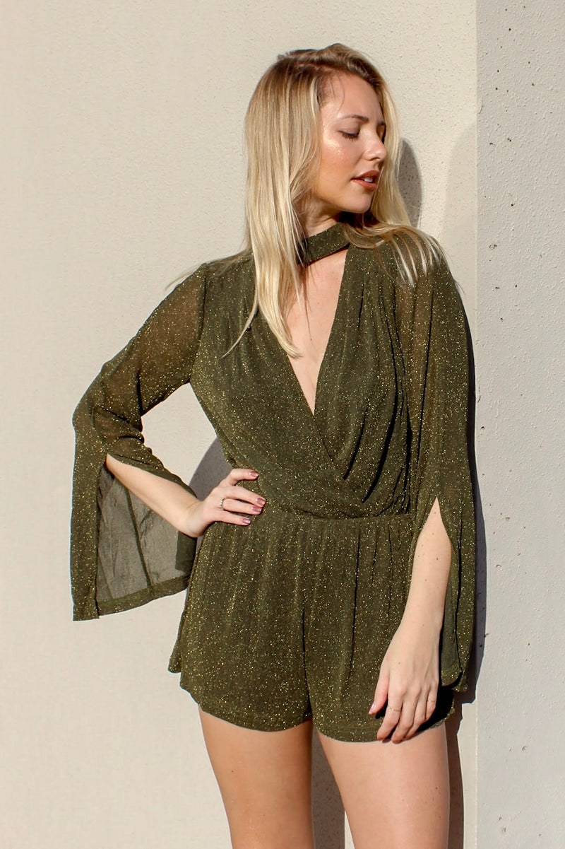Dirty Money Romper