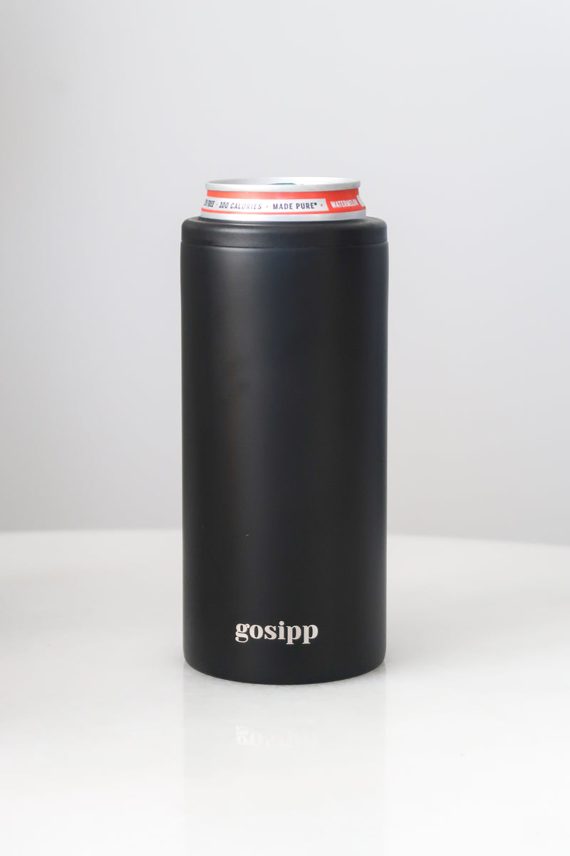 GOSIPP Le Slim 12oz Can Cooler – Onyx