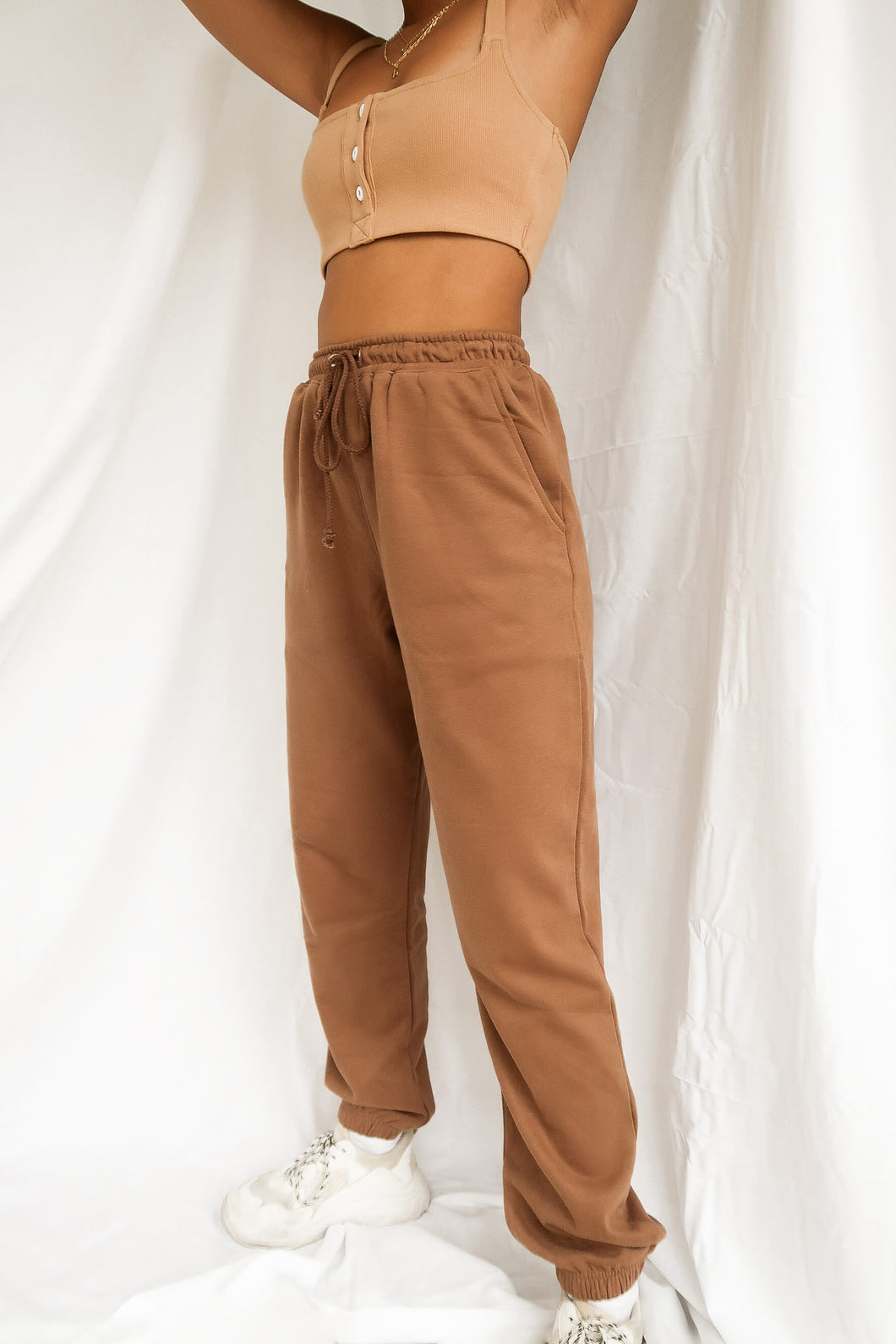 Running Late Jogger Sweatpants – Mocha