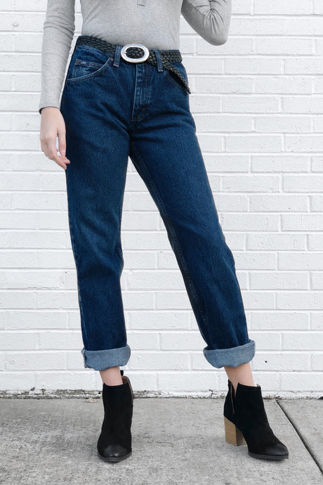Vintage High Waisted Lee Jeans (Sz 27)